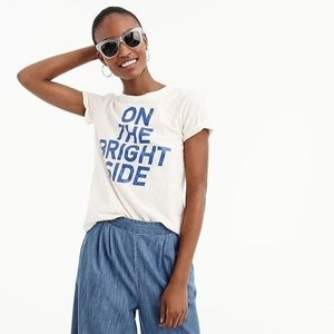 J. Crew On The Bright Side Tee